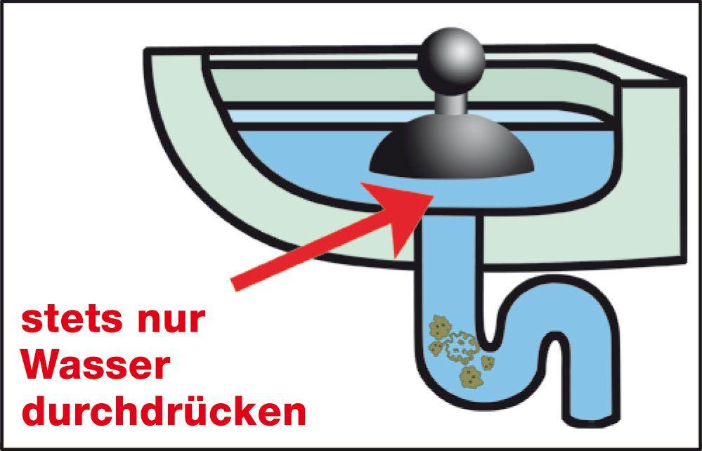 Saugglocke für die Abfluss Reinigung - Pömpel kaufen - So funktioniert die Power Glocke