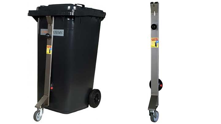 Lenkrolle für die Mülltonne